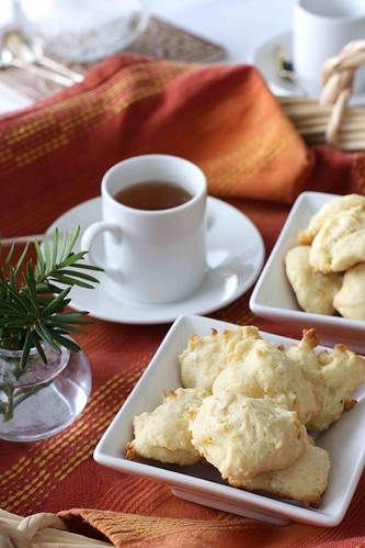 Orange & Coconut Tea Cookie Recipe