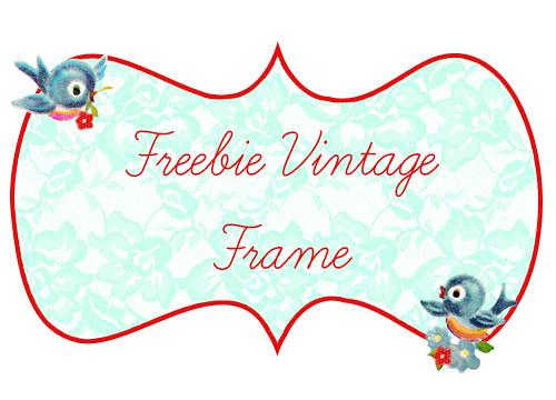 Vintage Bluebird Frame1