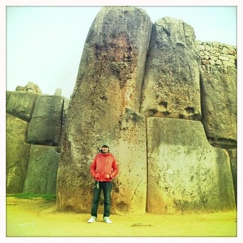 Saqsayhuaman, ruínas Incas perto de Cuzco