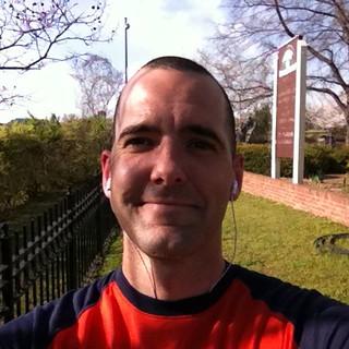 Ready for my run in the sun