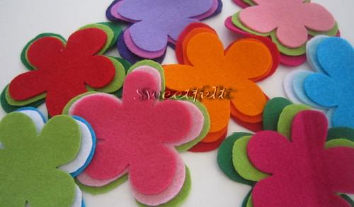 ♥♥♥ Para celebrar a Primavera! (in progress...) by sweetfelt \ ideias em feltro