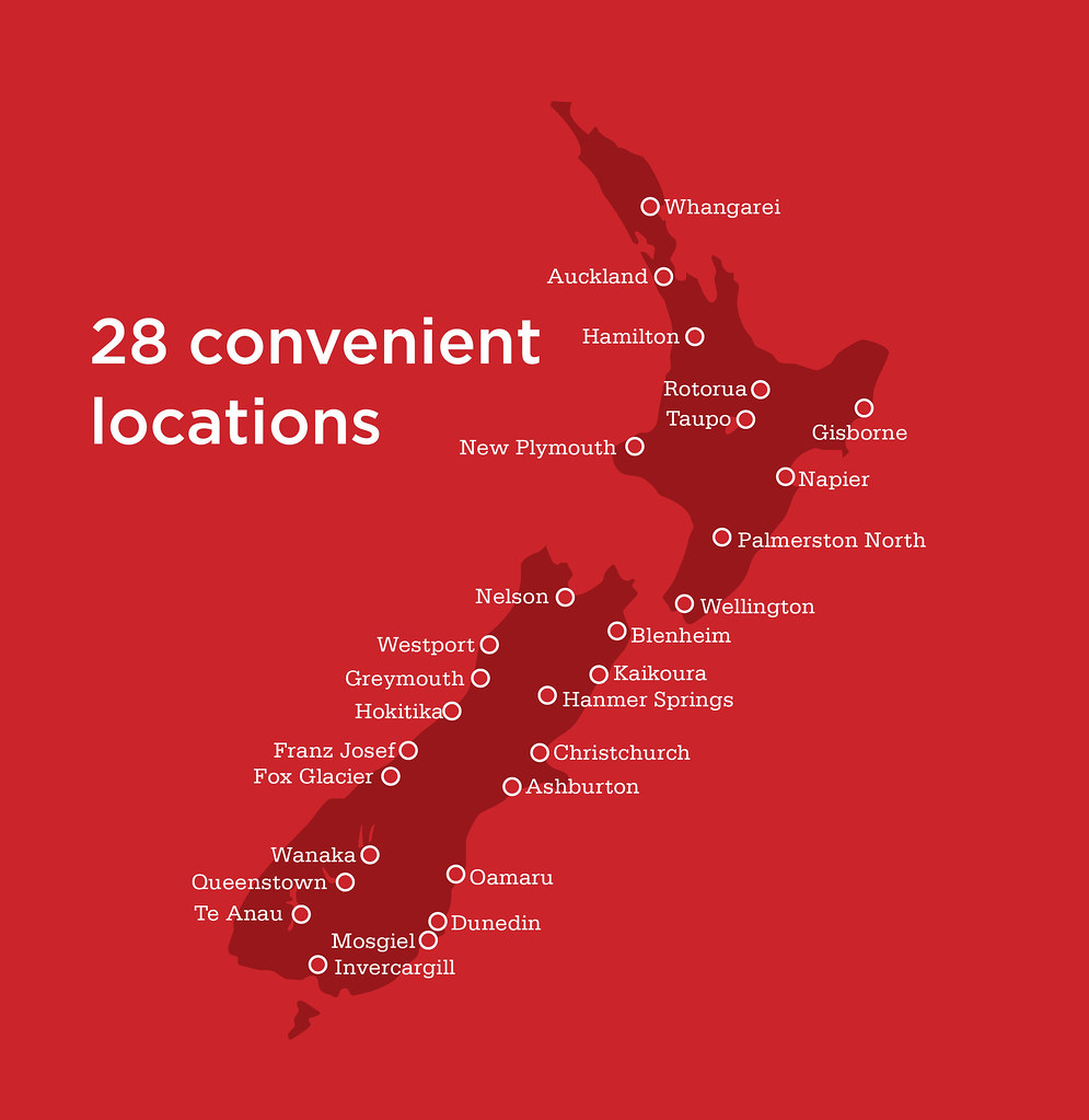 Bella Vista Location Map: New Zealand
