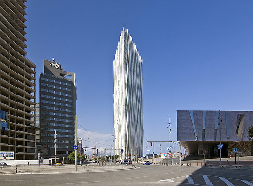 Diagonal ZeroZero Building, Barcelona, Spain
