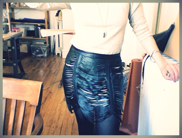 Ursa Minor Studios DIY slit leather skirt 1.jpg_effected