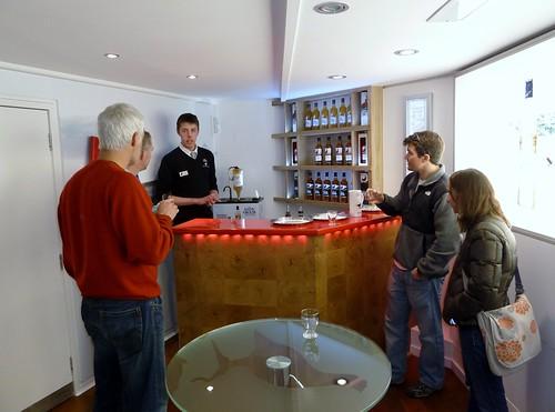 Tasting Famous Grouse at Glenturret