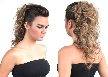penteados de formatura