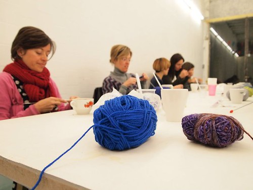 Knitting for beginners at Duduá
