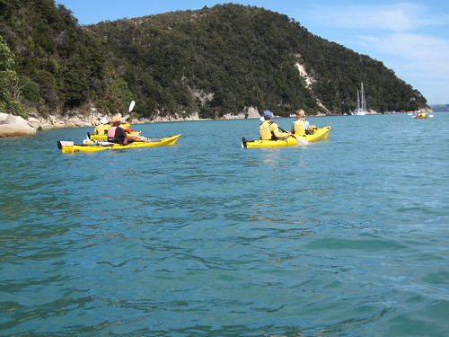 A perfect kayaking day