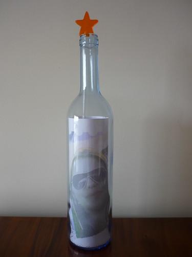 Scrapbooking na garrafa by multi coisas