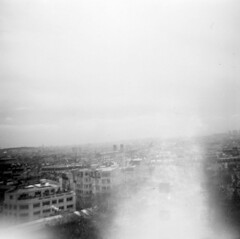 13/02/11 Top of the Arc De Triomphe, Paris. (kjefferies) Tags: paris lomography topofthearcdetriomphe fdianablackjack