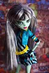 sassy lassie (Allan Saw) Tags: monster high doll frankiestein