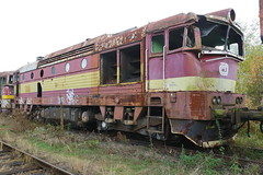 751 at Ceska Trebova depot (Karel1999 Over a Million views ,many thanks) Tags: vlak zug locomotives trains diesels ceska trebova