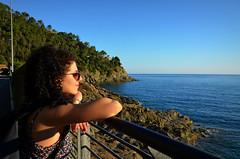 Sunny, one so true, I love you (Jessica Del Santo ) Tags: sun sunshine me travelling cinque terre sea blue landscape wanderlust