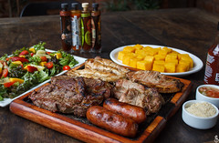 Commercial Photography (Daniel Ares) Tags: bbq barbecue sausage meat steak chicken pork gourmet food delicious comida brazilian carioca pepper chilli sauce potato frenchfries beer restaurant bar