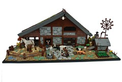 9 Kingdoms: Ranch (-Balbo-) Tags: lego moc creation rohan neun reiche 9 kingdoms nine balbo ranch lordoftherings