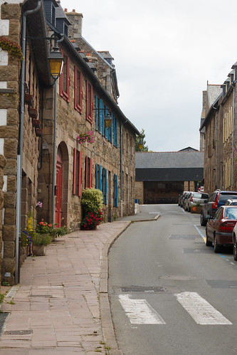 Rue de la Chalotais à Tréguier