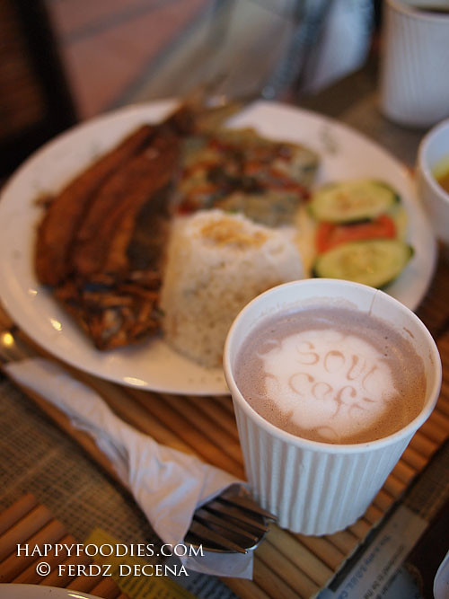 Hot Choco at Soul Cafe