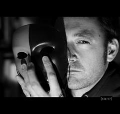 [ste_9999_20] la cattiva strada ([steTt] sofasurfer since1974) Tags: white black canon e bianco nero canoneos400d canon400d bnbnbw selfpotraitportatiritrattoautoscattoautoritratto