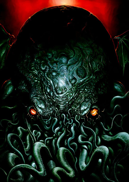 Tatsuya Nemoto (H.P Lovecraft Illustration) Cthulhu 6