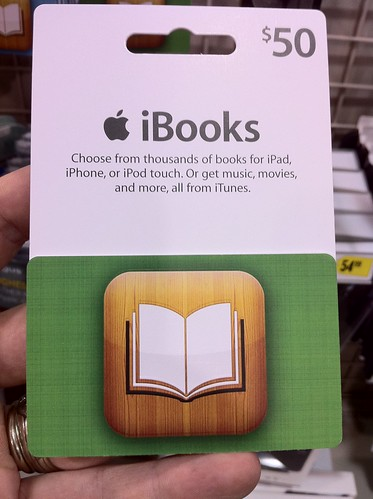 $50 iBooks Gift Card