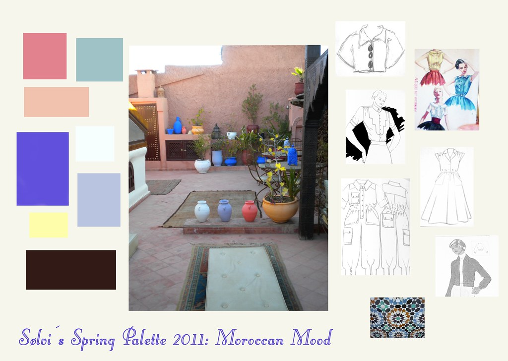 Moroccan Mood Board