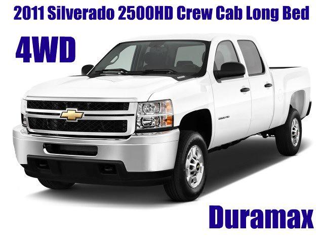 cab 4wd crew silverado 2011 2500hd