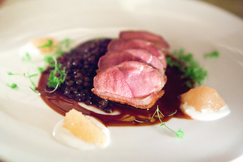 Hudson Valley glazed duck breast