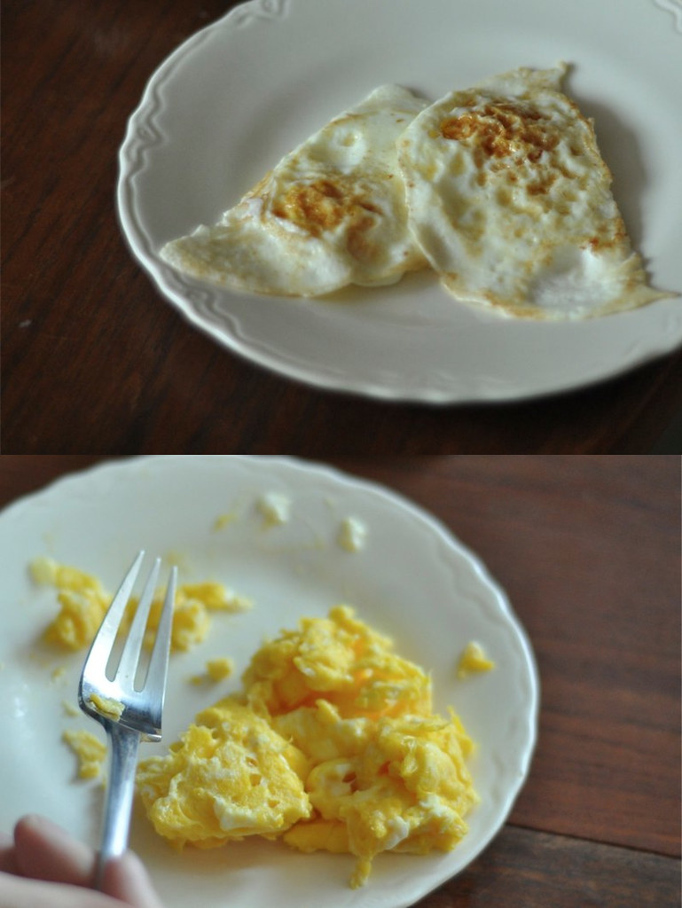 eggs two ways