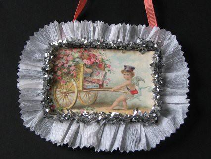 Vintage Valentine #3 - Valentine Plaque Card 004
