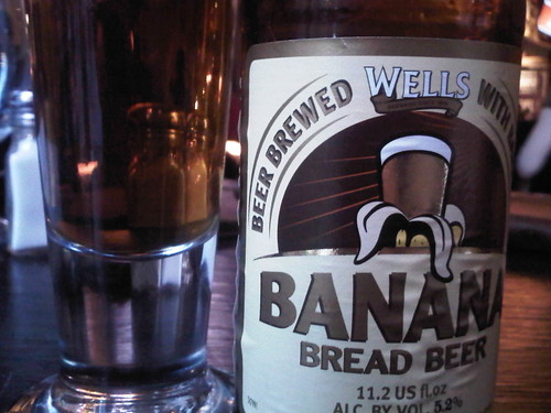 Banana bread beer.