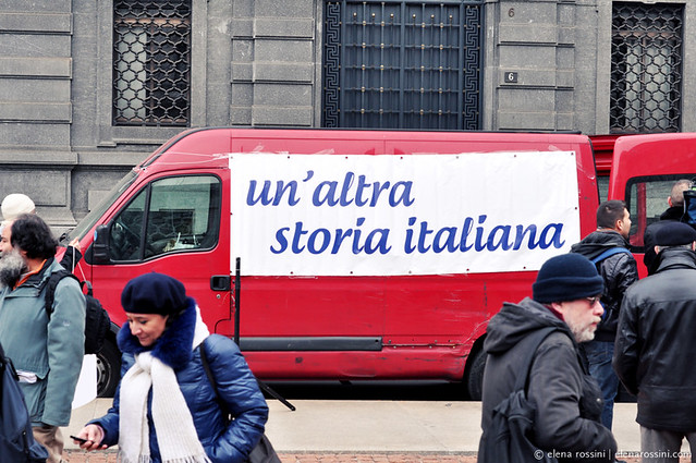 5398511017 a51d0c4787 z Restoring Italys Dignity – Anti Berlusconi protest in Milan