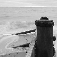 Hornsea sea defences (Erik Jensen1) Tags: sea motion blur groyne hornsea