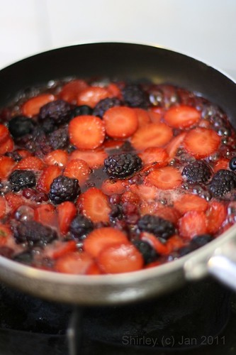 Caramelized Berries
