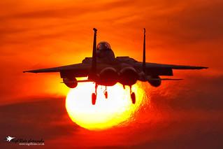 McDonnell Douglas Boeing F15C Eagle 86-0165  493 FS 48 FW
