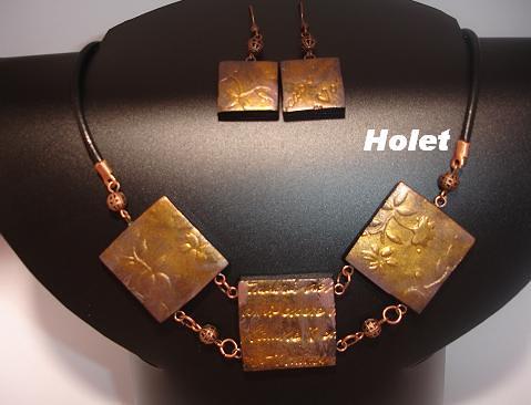 Sellos con pigmento cobre by holete79