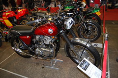 NORTON ATLAS. PIIA 750CC. DESERT SLED HYBRID. UK 1968. (ronsaunders47) Tags: motorcycles norton classics atlas motorbikes 750cc p11a desertsled