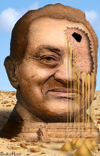 From flickr.com: Hosni Mubarak {MID-72225}