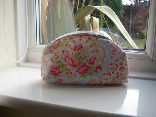 Slouchy make up bag