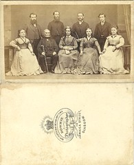 52 Unknown family, Glasgow mid 1860s