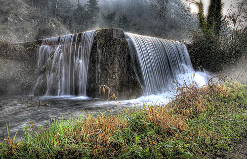 Cascade near old mill by Reporter1968