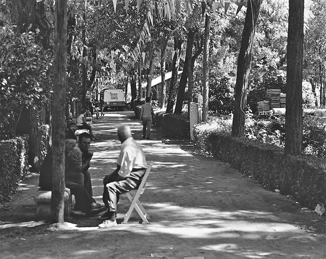 Paseo de la Vega o de Merchán en 1967. Fotografía de John Fyfe
