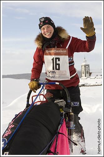 Femundlopet: Sigrid Ekran leaving Røros