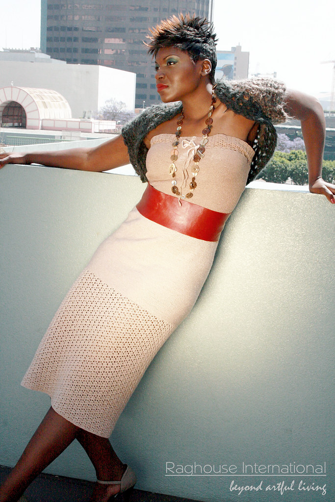 High Fashion Crocheted Dress