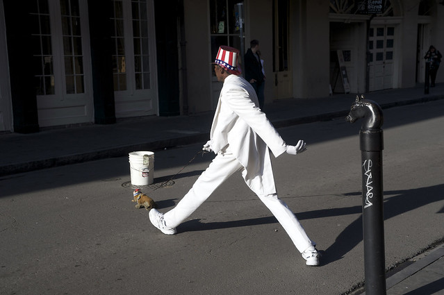 Uncle Sam Walking