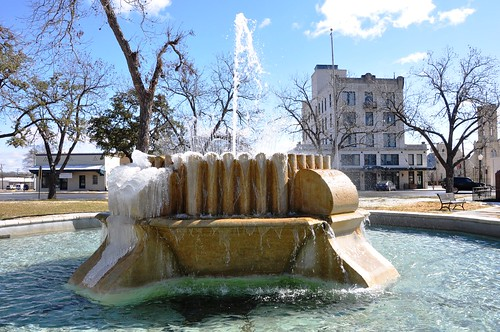 Fountain on square