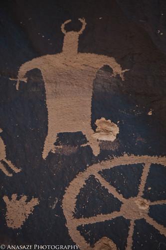 Wagon Wheel Anthropomorph