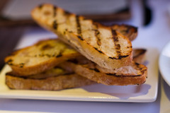 Julienne: grilled ciabatta