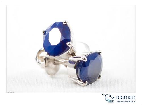 Sapphire Earring 003