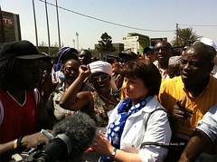 Martine Aubry au FSM par Parti socialiste