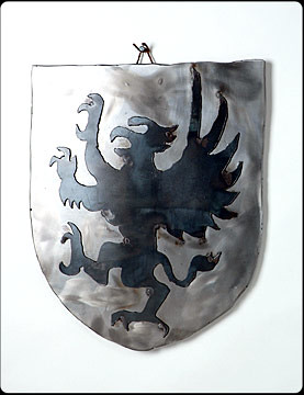 English Griffin Steel Shield
